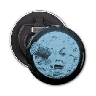 A Trip to the Moon or Le Voyage dans la Lune Retro Bottle Opener