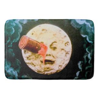 A Trip to the Moon Retro French Cinema Classic Bath Mat