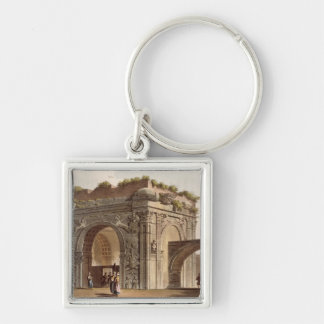 A Triumphal Arch of Tripoli in Barbary, plate 24 f Key Ring