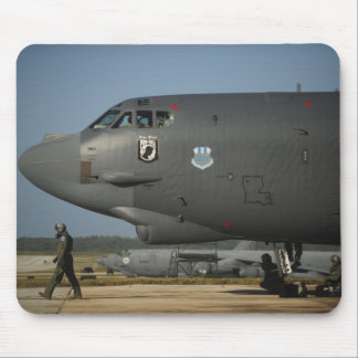 A US Air Force aircrew prepares a B-52 Mouse Pad
