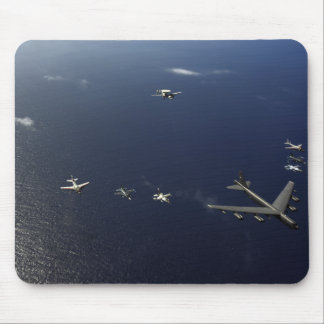 A US Air Force B-52 Stratofortress aircraft 3 Mouse Pad