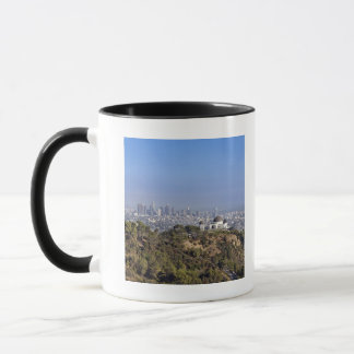 A view from a hiking trail in Griffith Park Mug