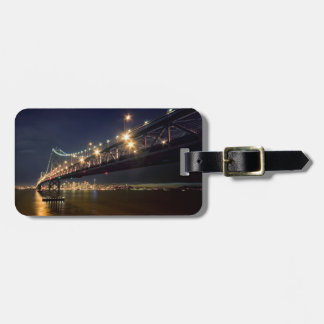 A View From Treasure Island Luggage Tag