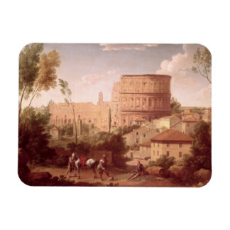 A View of the Colosseum with a Traveller, 1731 (oi Magnet