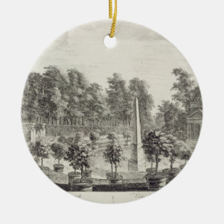 A View of the Orangery, Lord Burlington's Garden a Christmas Ornament
