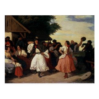 A Village Wedding Feast Postcards