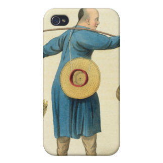 A Viper Seller, plate 46 from 'The Costume of Chin iPhone 4/4S Covers