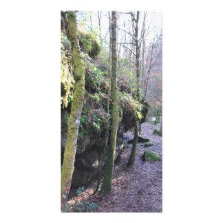 A walk in France photo card