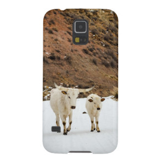 A Walk in the Snow Galaxy S5 Cover