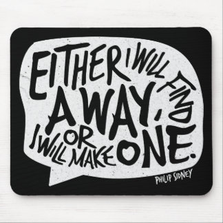 Inspirational Typography Mouse Pads