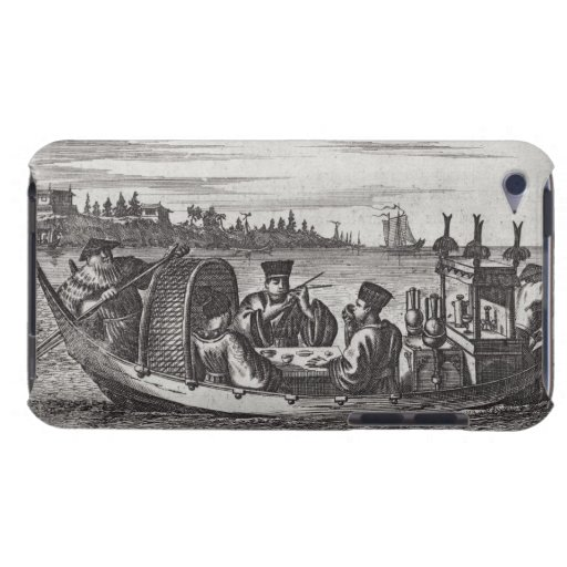 A Wealthy Mandarin Dining in a Boat, illustration Barely There iPod Case