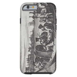 A Wealthy Mandarin Dining in a Boat, illustration Tough iPhone 6 Case