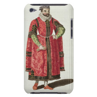 A Wealthy Merchant of London in 1588 (engraving) iPod Case-Mate Cases