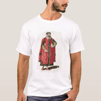 A Wealthy Merchant of London in 1588 (engraving) T-Shirt