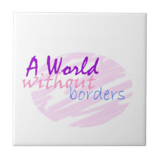 A world without borders tile