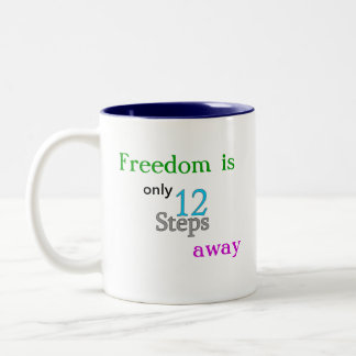 AA 12 Step Freedom Coffee Mug