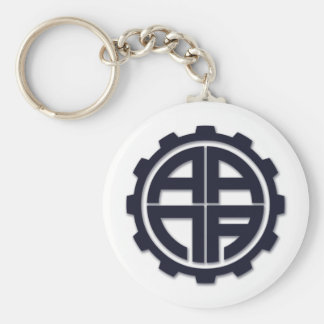 AANA GEAR BASIC ROUND BUTTON KEY RING