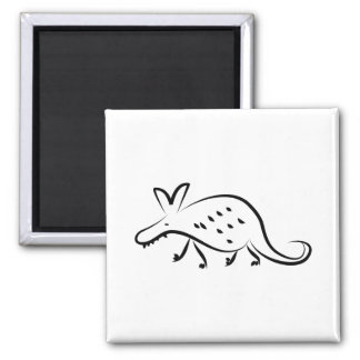 Aardvark Square Magnet