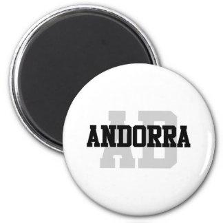 AB Andorra Magnet