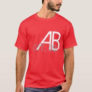 AB, EST. 09 T-Shirt