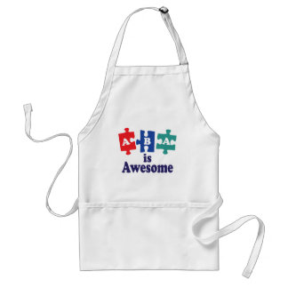 ABA Therapy Is Awesome Aprons