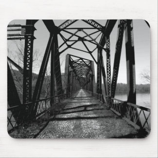 Abandoned RR Bridge b/w Mousepad