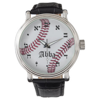 Abba (Father) Baseball Time Watch