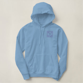Abc 123 embroidered hoodie