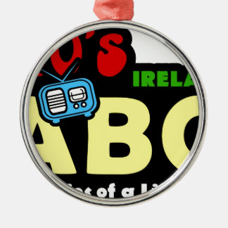 ABC 70s Ireland Radio Christmas Ornament