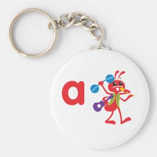 ABC Animals - Adam Ant Key Ring