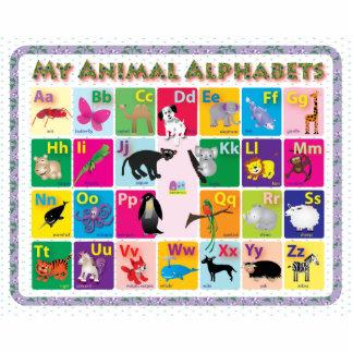 ABC: My Animal Alphabets Photo Sculpture Magnet