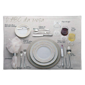 ABC of the Table Placemat