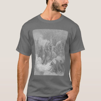 Abdiel Attacks Satan T-Shirt