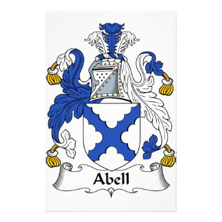 Abell Family Coat of Arms & Family Crests Stationery