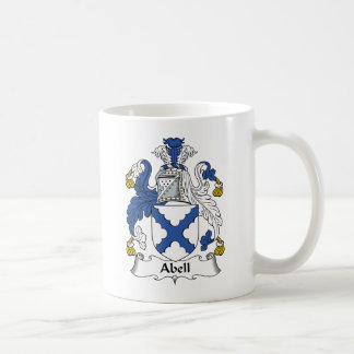 Abell Family Crest Coffee Mug