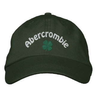 Abercrombie - Four Leaf Clover Embroidered Hat