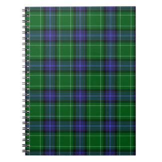 Abercrombie Tartan Writing Pad Notebook