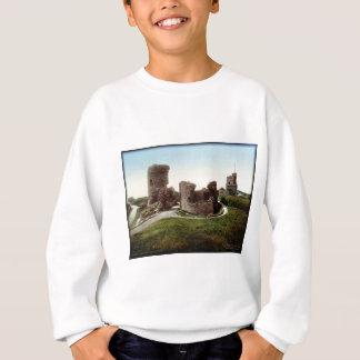 Aberystwith Castle Wales Vintage Photo Sweatshirt