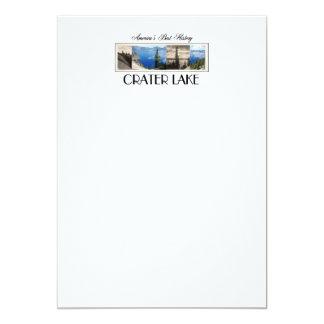 ABH Crater Lake 13 Cm X 18 Cm Invitation Card