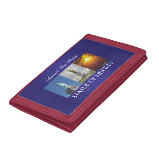 ABH Statue of Liberty Trifold Wallets