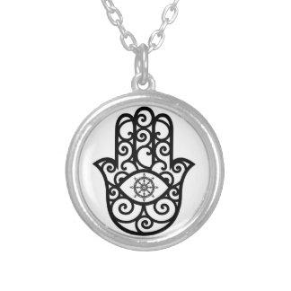 Abhaya-cariya Pendant - Hand of Fatima Charm