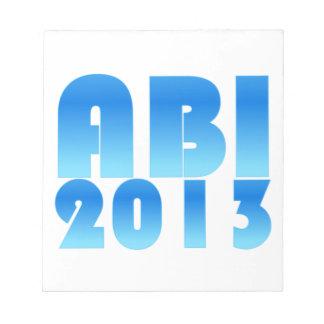 ABI 2013 NOTEPAD