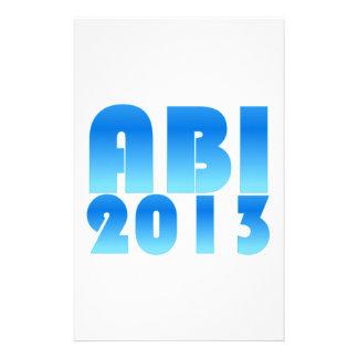 ABI 2013 STATIONERY