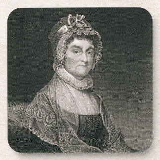 Abigail Adams, engraved by G.F. Storm (fl.c.1834) Coaster