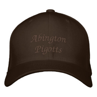 Abington Pigotts Embroidered Baseball Cap