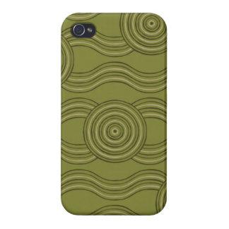 Aboriginal art bush iPhone 4 case