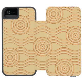 Aboriginal art sandstone incipio watson™ iPhone 5 wallet case