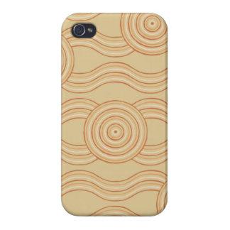 Aboriginal art sandstone iPhone 4 covers