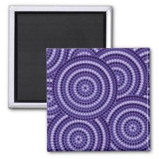 Aboriginal dot painting magnet