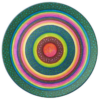 Aboriginal Mandala Plate